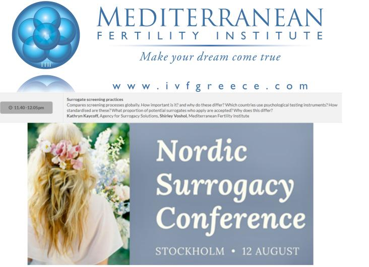Nordic Surrogacy Conference
